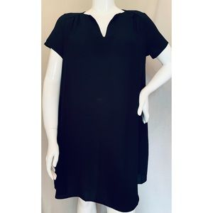 Lush Black Casual Carefree Pullover Dress XL